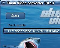 Shark Flash Video Converter: konvertálj egyszerűen