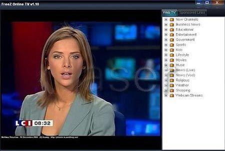 Freez Online TV - több száz csatorna ingyé