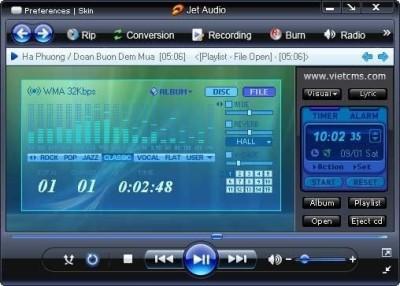 jetAudio 7.5 teszt: a Winamp riválisa