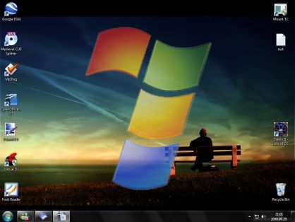 Microsoft Windows 7 bemutató
